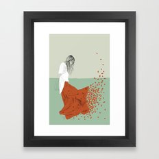Woman Color 9 Framed Art Print