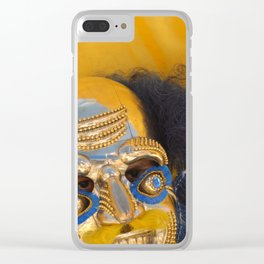 Oruro mask 3 Clear iPhone Case