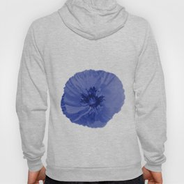 Blue poppy Hoody