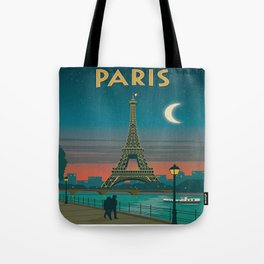 Vintage poster - Paris Tote Bag