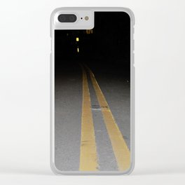 where do I go from here Clear iPhone Case