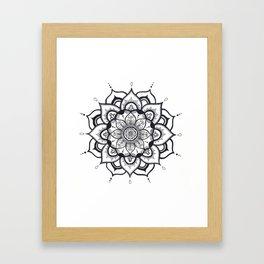 Bold Mandala Framed Art Print