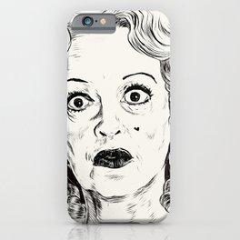 Bette Davis/Baby Jane iPhone Case