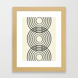 life balance Framed Art Print