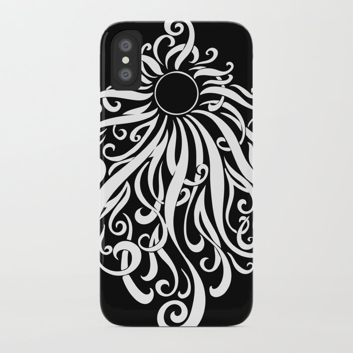 Black Sun iPhone Case