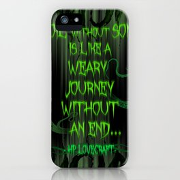 [Toil without Song] iPhone Case