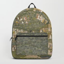 Maharana Sangram Singh II Hunting Tigers  Backpack