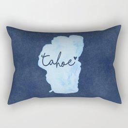 True Blue Rectangular Pillow