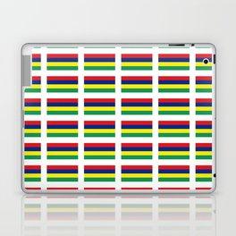 Flag of Mauritius – maurice,mauricien,port-louis,mauritian,rodrigues,creole,dodo,indian ocean Laptop & iPad Skin