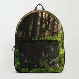 The Light Within - Beauty in the Washington Rain Forest Backpack