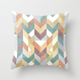 Shevron 2 Throw Pillow
