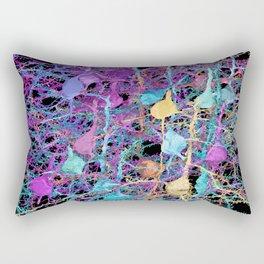 Cortical Brain Neurons by Kfay Rectangular Pillow