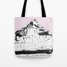 a mountain Tote Bag
