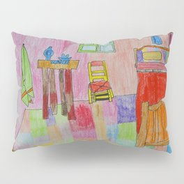 Colorful Bedroom #society6 Pillow Sham