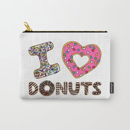 I LOVE DONUTS Carry-All Pouch