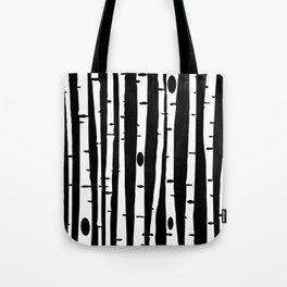 Birchs WHT Tote Bag
