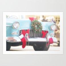 Holiday Cruisin' Art Print
