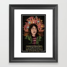 Joyce Stranger Things Framed Art Print
