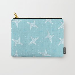Origami blue pattern Carry-All Pouch