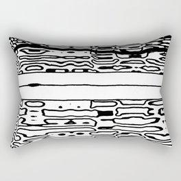mystery zip Rectangular Pillow