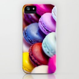 Rainbow Macarons iPhone Case