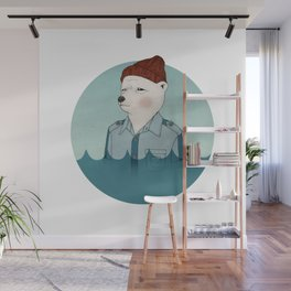 Bill Murray - Life Aquatic - stand out Wall Mural