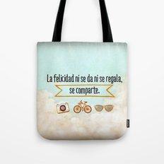 Felicidad - Happiness Tote Bag