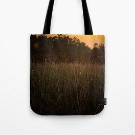 Sunset in the Fields Tote Bag