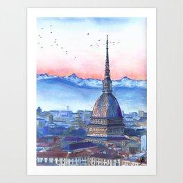 Mole Antonelliana Art Print