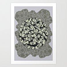 Where No Snail Has Gone Before Art Print