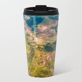 Land from the sky Travel Mug