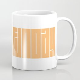 Sunday Funday | Typography Coffee Mug