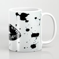 sons of anarchy Mugs featuring Anarchy by Mike Lampkin