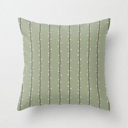 Salix Throw Pillow