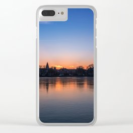 The Lakes, Copenhagen Clear iPhone Case