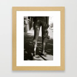 Strut. Framed Art Print
