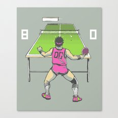 The Ping Pong Championships of '82 Canvas Print