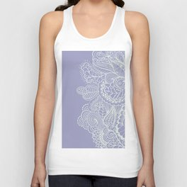 Abstract Nature in Ultraviolet Unisex Tank Top