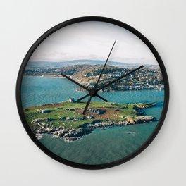 Aerial view of Dalkey Island Wall Clock