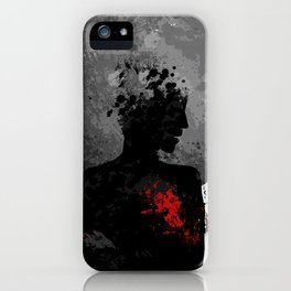 The Heart Hurts. iPhone Case