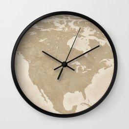 America Wall Clock