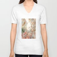 perfume V-neck T-shirts featuring Perfume #2 by Dao Linh