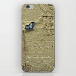 Yellow Brick Wall iPhone Skin