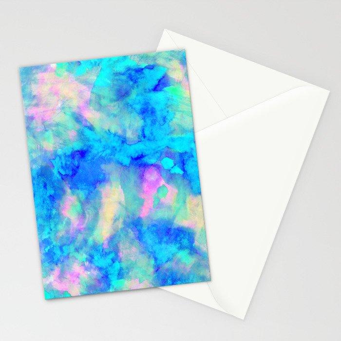 Electrify Ice Blue Stationery Cards