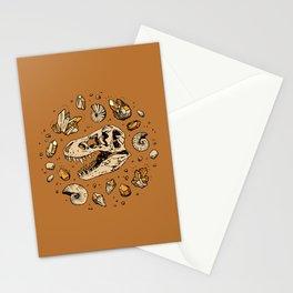 Geo-rex Vortex | Citrine Quartz Stationery Cards