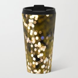 Glimmering bokeh Travel Mug
