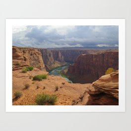 Glen Canyon Overlook Art Print