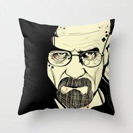 Walter White-Heisenberg Throw Pillow