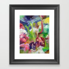 Xheep Framed Art Print