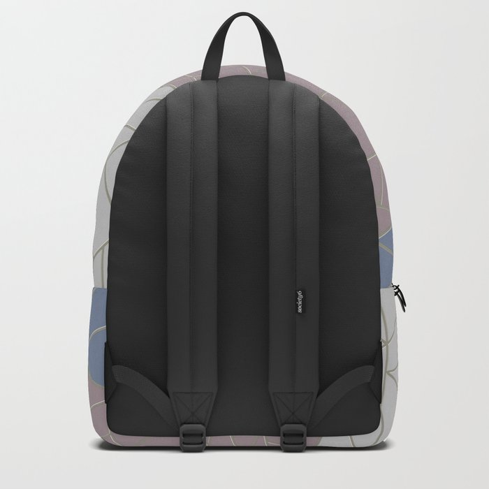 THE WORLD IS ROUND (abstract) Backpack